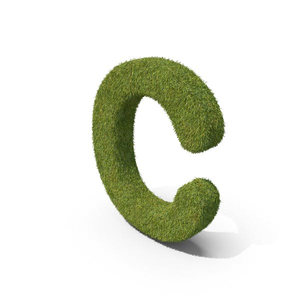 Трава заглавная буква C