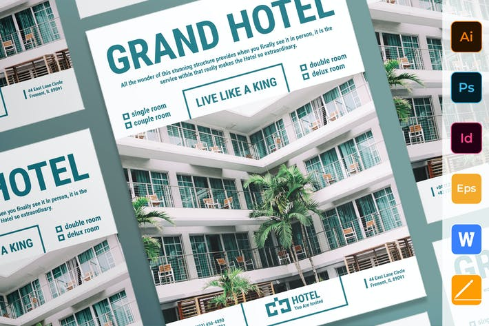 Thumbnail for Póster del hotel