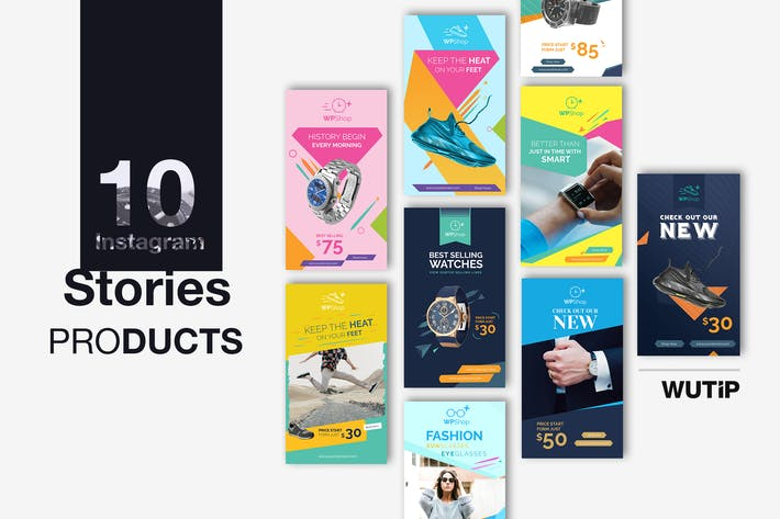 Cover Image For 10 Instagram Stories-Products