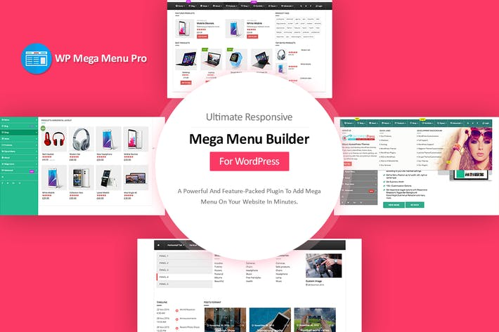 WP Mega Menu Pro by AccessKeys on Envato Elements