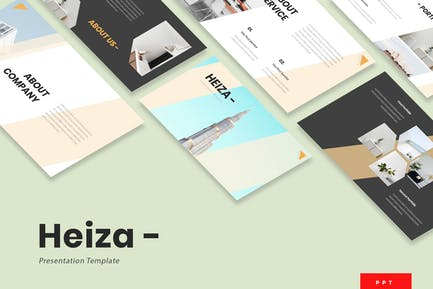 Heiza - Corporate Powerpoint Presentation Template