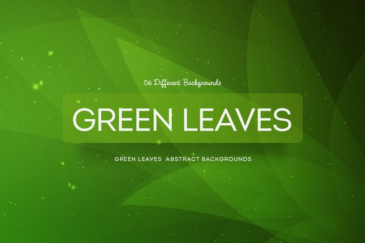 Thumbnail for Green Leaves Abstract Backgrounds COL 4