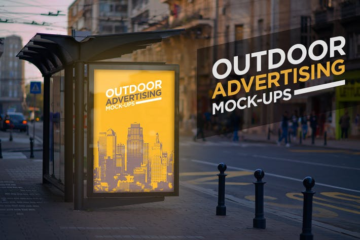 Thumbnail for Outdoor Advertising Mock-Up Vol.2