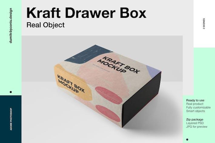 Thumbnail for Rectangular Drawer Kraft Box