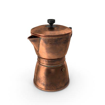 Kupfer Kaffeekanne