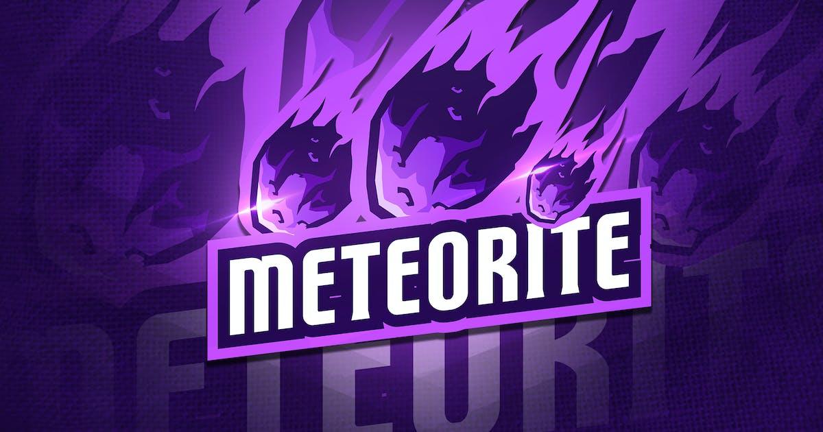 Download Meteorite - Mascot & Esport Logo by aqrstudio