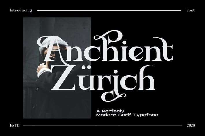Thumbnail for Ancient Zurich - Serif Elegant Font Logotype Brand