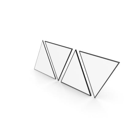 Imagen triangular con Diseño marco K