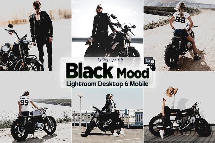 Thumbnail for Black Mood Lightroom Presets Mobile & Desktop