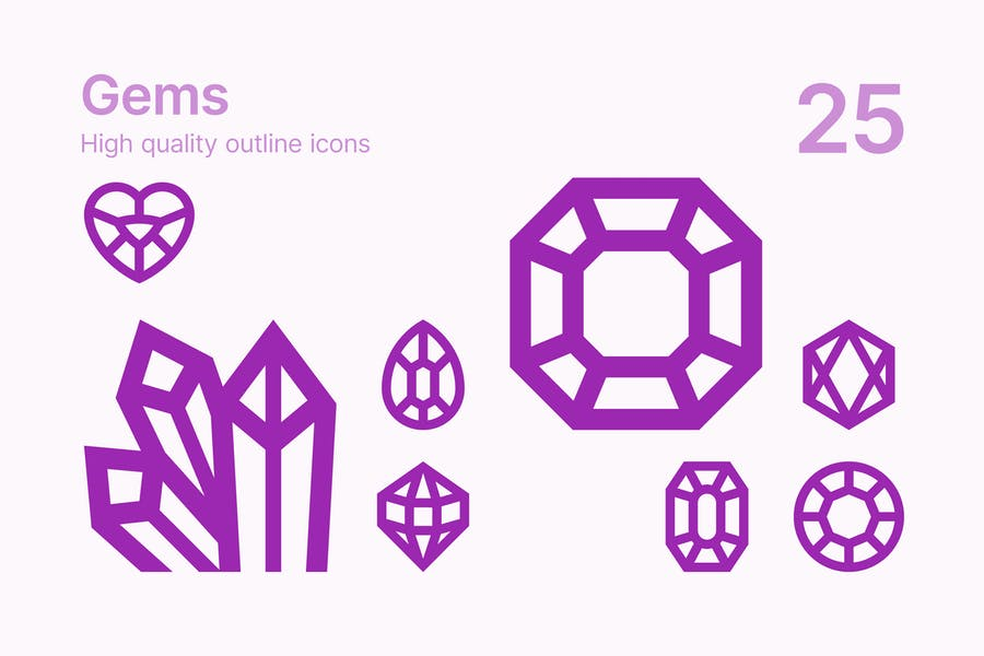 Gem Icons