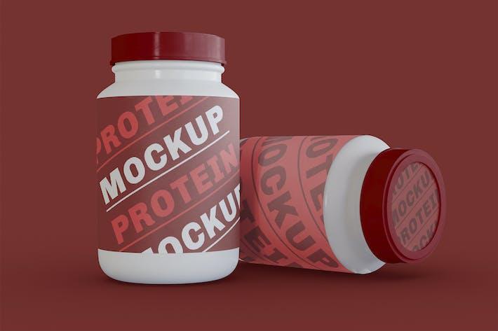 Sportflasche Mockup