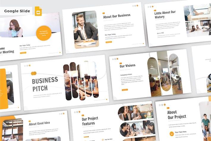 Thumbnail for BUSINESS PICTH - Google Slide V307