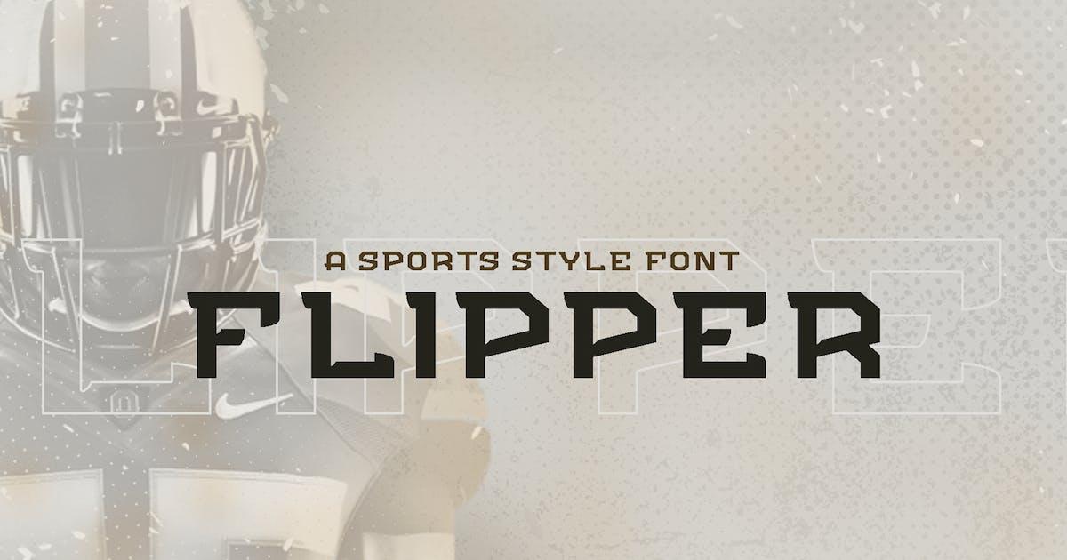 Download Flipper - NFC Font Family by ovozdigital