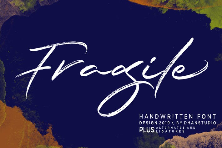 Thumbnail for Fragile Schrift
