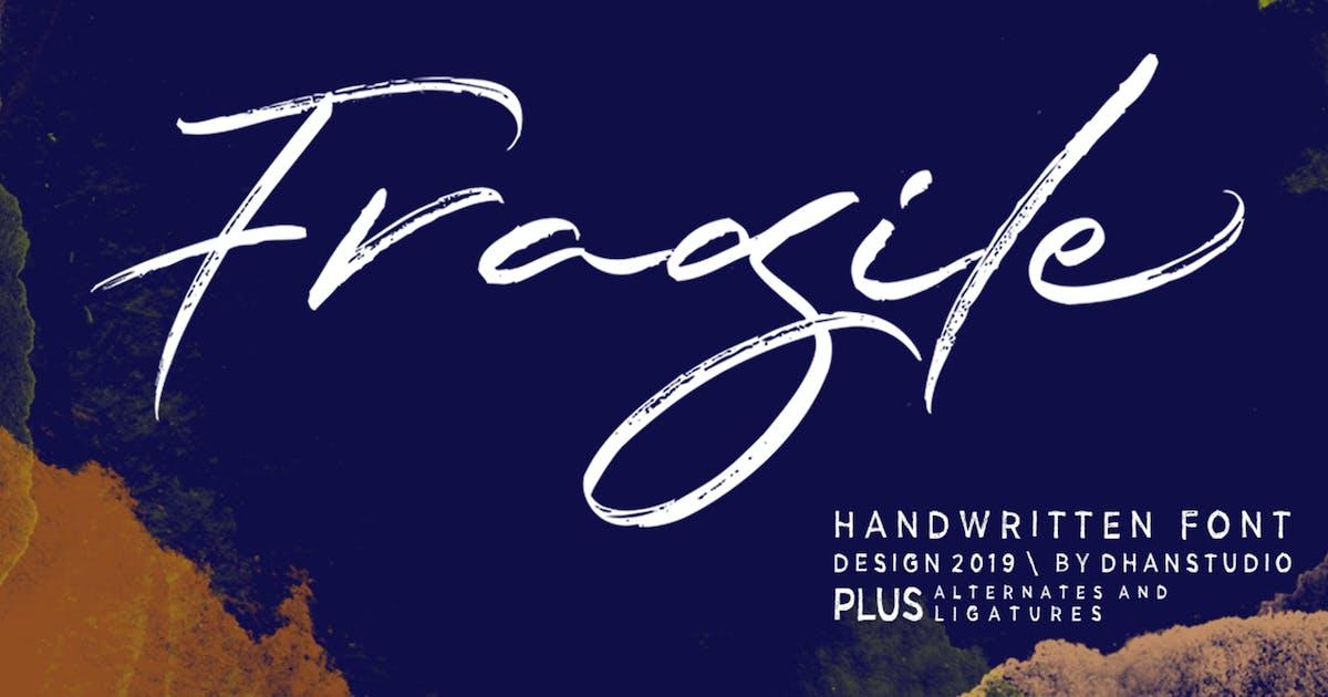 Download Fragile Script by dhanstudio