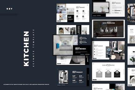 Kitchen Tools - Keynote Template