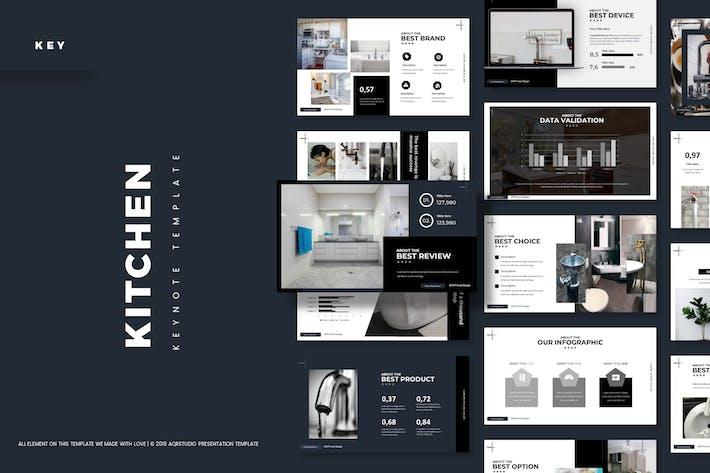 Кухонные инструменты - Шаблон Keynote