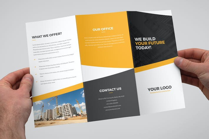 Thumbnail for Brochure – Architecture and Construction Tri-Fold