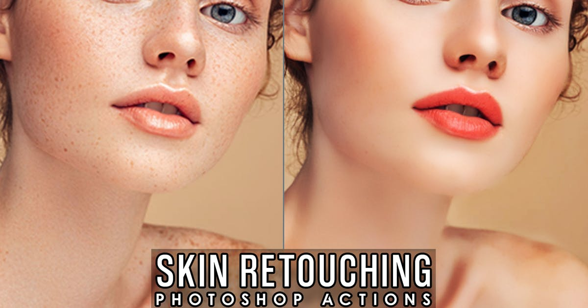 Download Skin Retouch Actions Photoshop by 2lagus