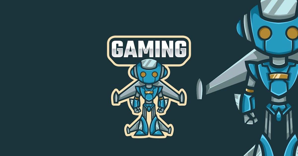 Download Robot Logo Mascot by maikohatta
