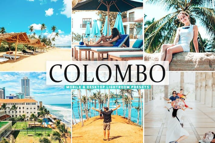 Thumbnail for Colombo Mobile & Desktop Lightroom Presets