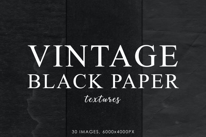 Thumbnail for Black Vintage Paper Textures 2