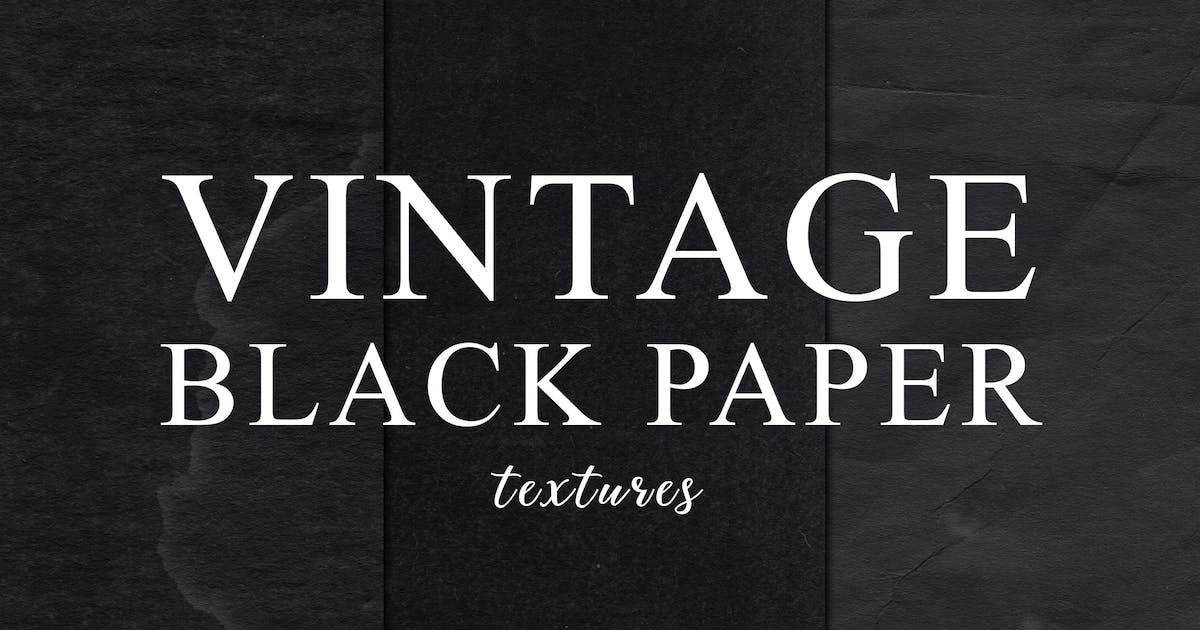 Download Black Vintage Paper Textures 2 by M-e-f