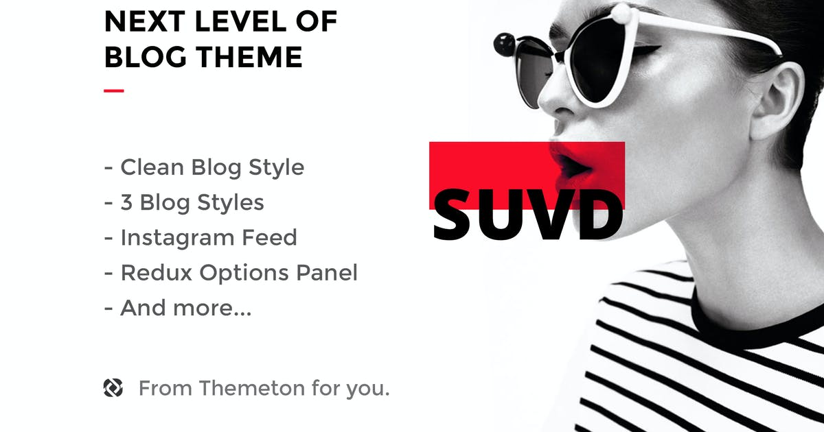 Download SUVAD - Personal Blog PSD Template by themeton