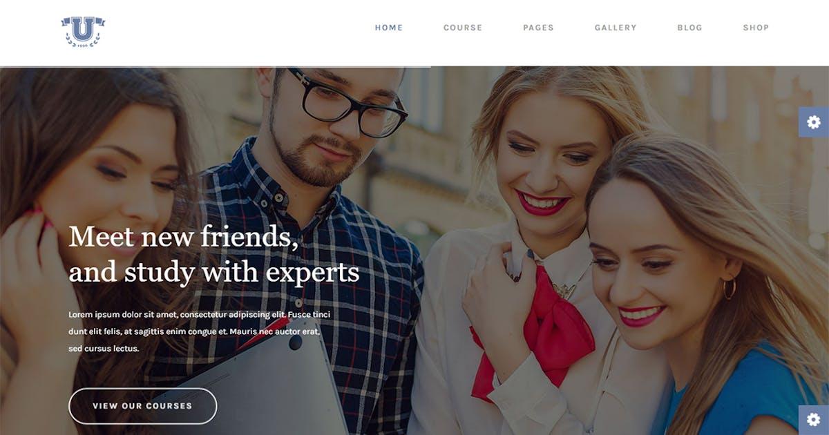 Download Aquarius - Educational University HTML Template by themesflat