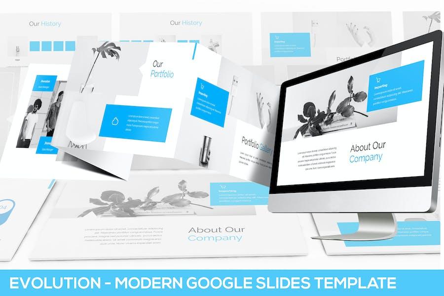 Evolution - Modern Google Slides Template