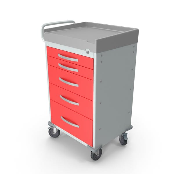 General Purpose Medical Cart with Drawers