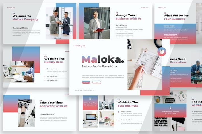 Thumbnail for Малока Бизнес - Keynote