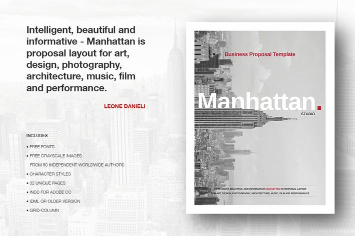 Thumbnail for Manhattan Business Proposal
