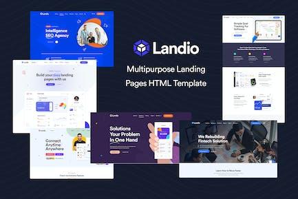 Landio - Multipurpose Landing Page HTML Template