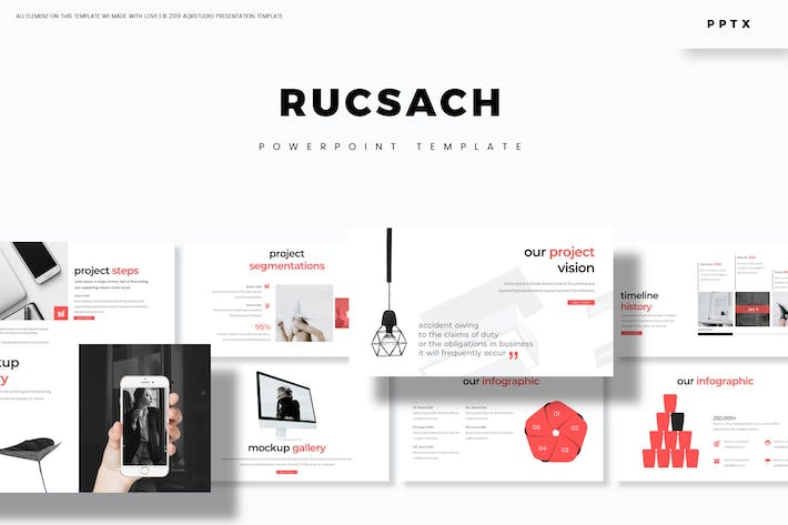 Cover Image For Rucsach - Powerpoint Template
