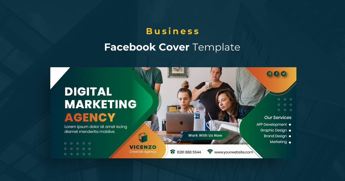 Download Business r17 Facebook Cover Template by youwes