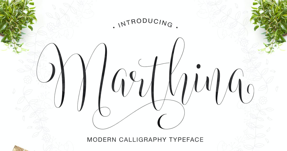 Download Marthina Script - Two Style by IanMikraz