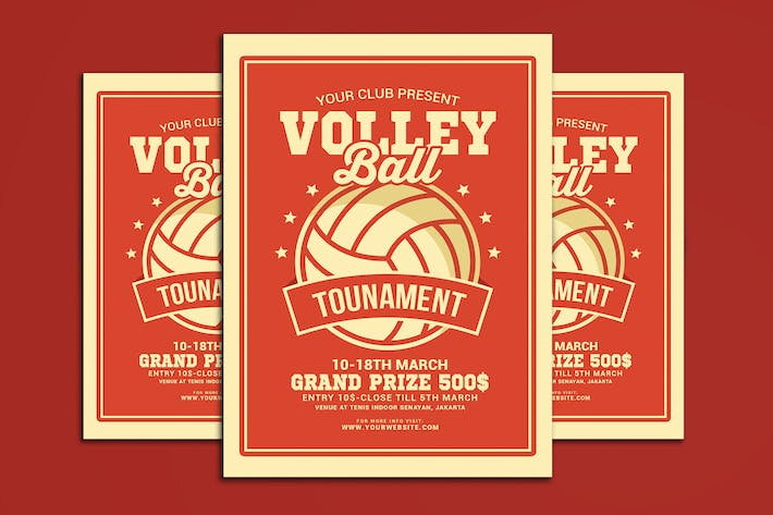 Thumbnail for Volleyball Tourdépliant