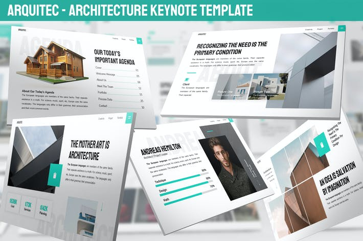 Thumbnail for Arquitec - Architecture Keynote Template