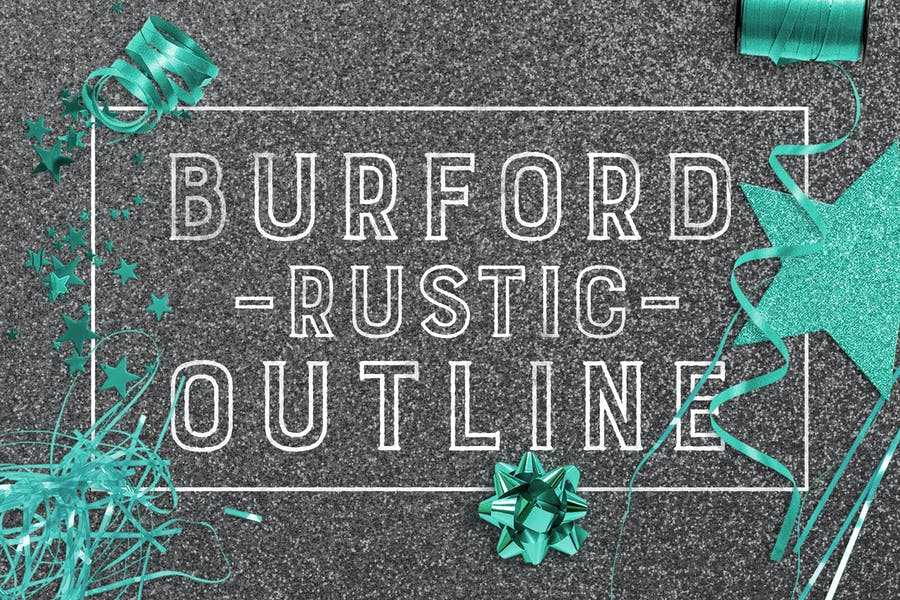 Burford Rustic Outline