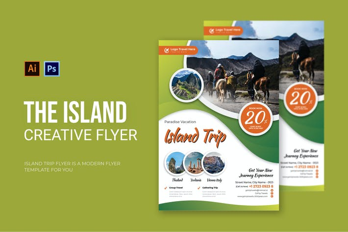 Thumbnail for Island Trip - Flyer