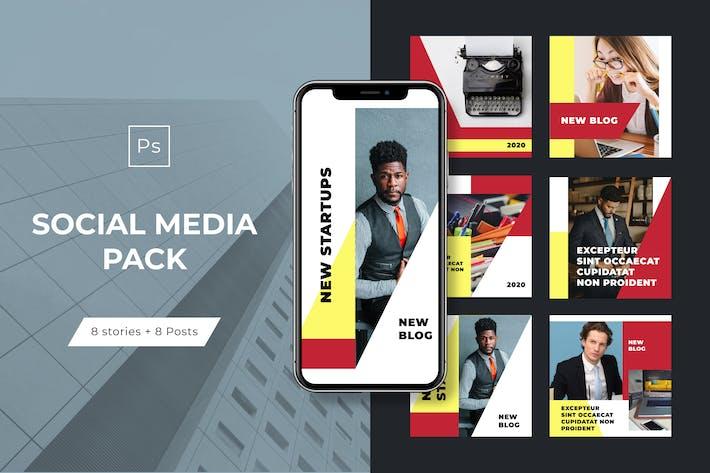 Thumbnail for Modèles pour Instagram - Histoires et messages - Vol.2