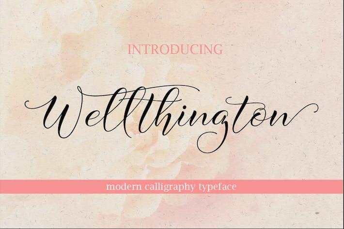 Cover Image For WELLTHINGTON Script