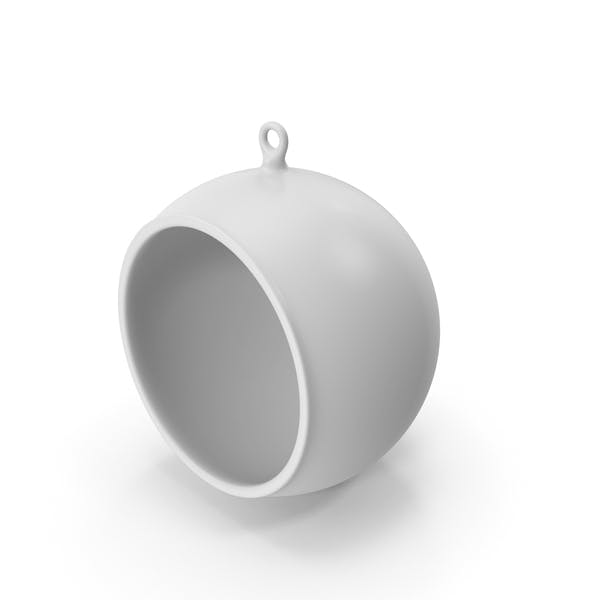 Thumbnail for Christmas Tree White Ornament