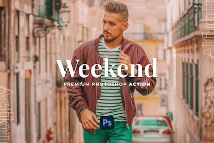 Weekend Photoshop Action