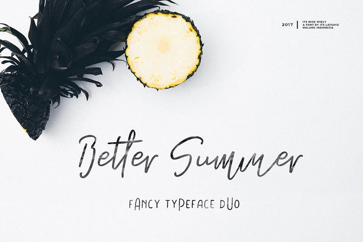 Thumbnail for Its Miss Summer Font Duo