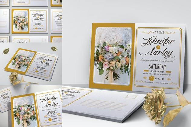 Elegant Wedding Invitation - product preview 0