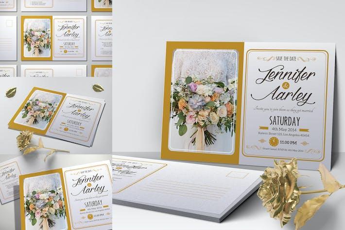 Thumbnail for Elegant Wedding Invitation