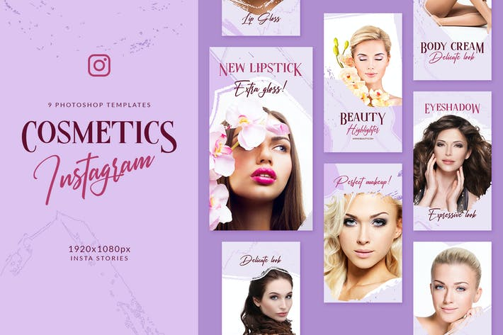 Thumbnail for Cosmetics Instagram Stories