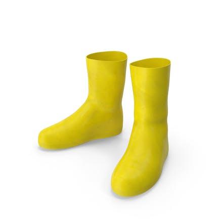 Botas de seguridad de goma